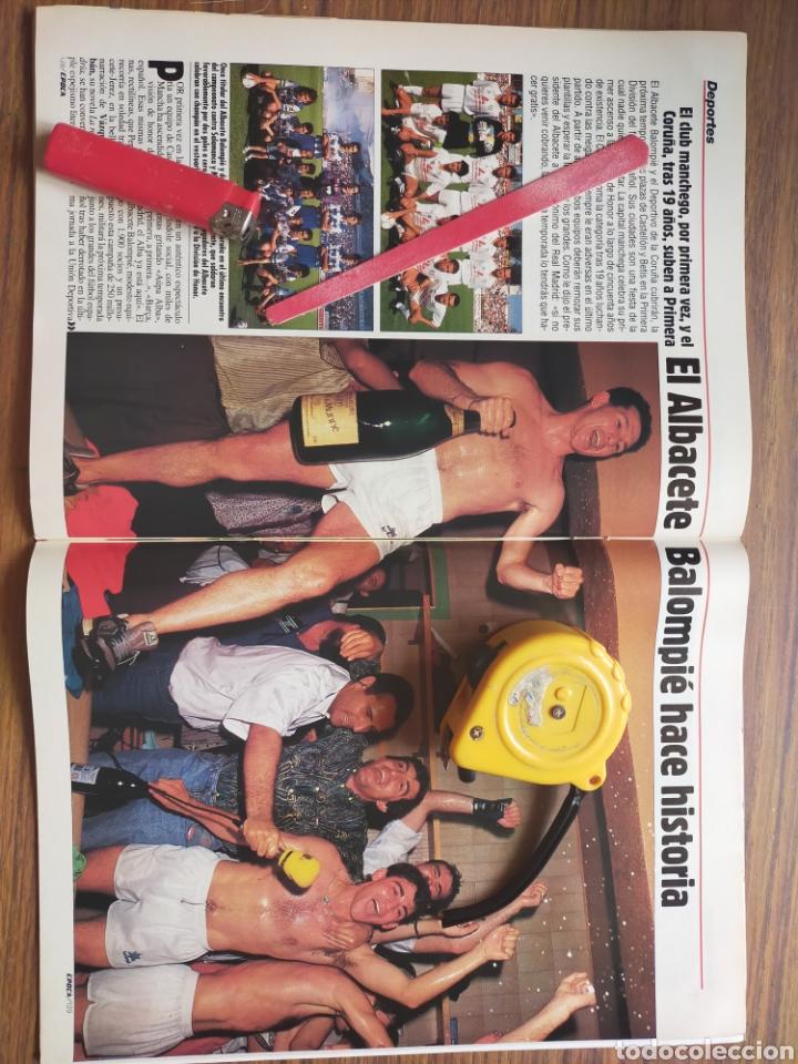 Coleccionismo de Revista Época: Revista época 1992 Albacete Balompié en primera división por primera vez - Foto 3 - 278800978