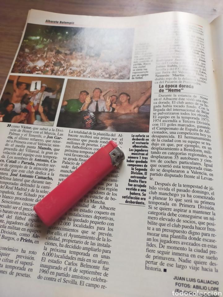Coleccionismo de Revista Época: Revista época 1992 Albacete Balompié en primera división por primera vez - Foto 5 - 278800978