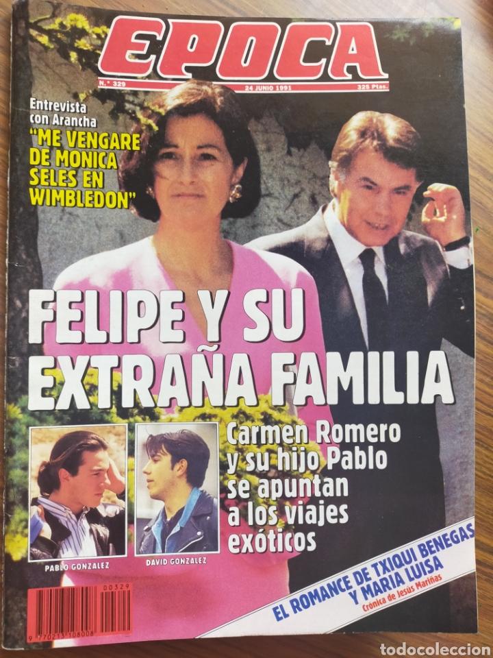 REVISTA ÉPOCA 1992 ALBACETE BALOMPIÉ EN PRIMERA DIVISIÓN POR PRIMERA VEZ (Coleccionismo - Revistas y Periódicos Modernos (a partir de 1.940) - Revista Época)