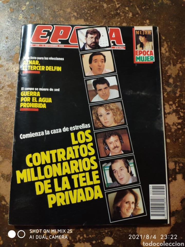 REVISTA EPOCA N° 235 (11 SEPTIEMBRE 1989) (Coleccionismo - Revistas y Periódicos Modernos (a partir de 1.940) - Revista Época)