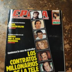 Coleccionismo de Revista Época: REVISTA EPOCA N° 235 (11 SEPTIEMBRE 1989). Lote 279475558