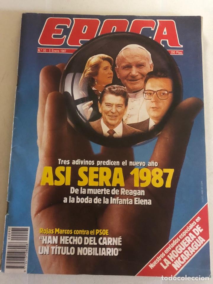 REVISTA ÉPOCA 5 ENERO 1987 (Coleccionismo - Revistas y Periódicos Modernos (a partir de 1.940) - Revista Época)