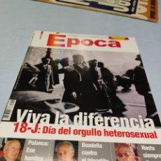 Coleccionismo de Revista Época: EPOCA REVISTA 2005. Lote 295402728