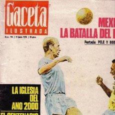 Coleccionismo de Revista Gaceta Ilustrada: GACETA ILUSTRADA. Lote 526569