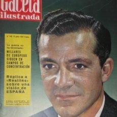 Coleccionismo de Revista Gaceta Ilustrada: GACETA ILUSTRADA 1959 / DANA ANDREWS - OLIMPIADA ROMA - C. DOYLE - HOLME - ESTADIO CONCENTRACION. Lote 22467344