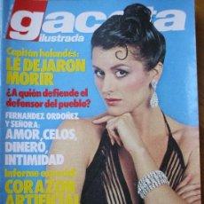 Collectionnisme de Magazine Gaceta Ilustrada: GACETA ILUSTRADA 9 ENE 83 CARLA ARAQUE LA MODELO MAS COTIZADA DEL MUNDO. Lote 23473972