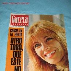 Collectionnisme de Magazine Gaceta Ilustrada: REVISTA GACETA ILUSTRADA, Nº 645 DE 16-02-1969. NATHALIE DELON, PORTADA Y PÁGINAS INTERIORES.. Lote 23622037