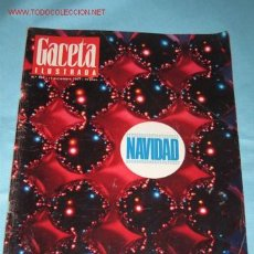 Coleccionismo de Revista Gaceta Ilustrada: REVISTA GACETA ILUSTRADA, Nº 584 DE 17-12-1967. NAVIDAD, PORTADA Y PÁGINAS INTERIORES. . Lote 23622044