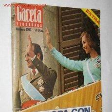 Coleccionismo de Revista Gaceta Ilustrada: GACETA ILUSTRADA Nº 1000 EXTRA, DE 7/12/75. EUROPA CON LOS REYES. Lote 23117306
