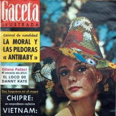 Coleccionismo de Revista Gaceta Ilustrada: GACETA ILUSTRADA Nº 410 1964 (ORIANA FALLACI, DANNY KAYE, CHIPRE, YVETTE MIMIEUX). Lote 16280312