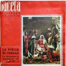 Collectionnisme de Magazine Gaceta Ilustrada: GACETA ILUSTRADA Nº 428 1964 EXTRAORDINARIO DE NAVIDAD (LOS ROMANOFF,MATA HARI, MARTIN BORMANN HIJO). Lote 16280661