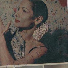 Coleccionismo de Revista Gaceta Ilustrada: REVISTA 1958 BAILE FLAMENCO CARMEN AMAYA PASTERNAK CURD JURGENS MARIO CABRE BEGUR. Lote 18338355