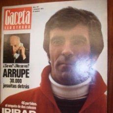 Coleccionismo de Revista Gaceta Ilustrada: LA GACETA ILUSTRADA REPORTAJE AIRIBAR 11 PG 13 FT DUNAWAY-NICHOLSON Y POLANSKY. Lote 21574096