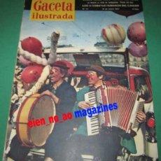 Coleccionismo de Revista Gaceta Ilustrada: GACETA ILUSTRADA Nº 15/1957~LOS PAYASOS DEL CIRCO~BERNARD SHAW~EL GRECO~REAL ACADEMIA ESPAÑOLA~TBO. Lote 26122433