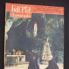 Coleccionismo de Revista Gaceta Ilustrada: GACETA ILUSTRADA - Nº 71 - 15 FEBRERO 1958 - CIEN AÑOS DE LOURDES - LA CATASTROFE DEL M. UNITED - . Lote 26884211