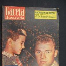 Coleccionismo de Revista Gaceta Ilustrada: GACETA ILUSTRADA - Nº 124 - 21 FEBRERO 1959 - PORTADA: KUBALA - LOS TOREROS DEL FUTBOL - . Lote 26884262