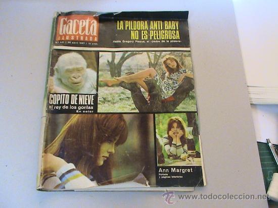 GACETA ILUSTRADA Nº 551 30 DE ABRIL DE 1967 (Coleccionismo - Revistas y Periódicos Modernos (a partir de 1.940) - Revista Gaceta Ilustrada)