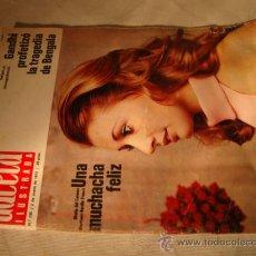 Coleccionismo de Revista Gaceta Ilustrada: REVISTA GACETA ILUSTRADA Nº AÑO , EN PORTADA . Lote 28509180