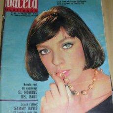 Coleccionismo de Revista Gaceta Ilustrada: GACETA ILUSTRADA 425 -1964 JEAN HARLOW SAMMY DAVIS. Lote 287946288