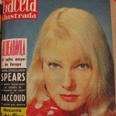 Coleccionismo de Revista Gaceta Ilustrada: REVISTA GACETA ILUSTRADA 1960 MAY BRITT ROSANNA SCHIAFFINO BRIGITTE BARDOT. Lote 28878287