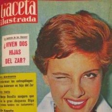 Collectionnisme de Magazine Gaceta Ilustrada: REVISTA GACETA ILUSTRADA 1960 ROSSANA PODESTA ROMANOF. Lote 28878524