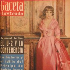 Coleccionismo de Revista Gaceta Ilustrada: REVISTA GACETA ILUSTRADA 1960 GINA LOLLOBRIGIDA. Lote 28880011