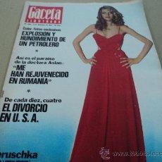 Colecionismo da Revista Gaceta Ilustrada: LA DOCTORA ASLAN EN LA GACETA ILUSTRADA. Lote 29134359