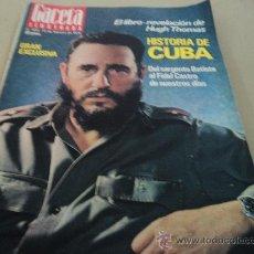 Coleccionismo de Revista Gaceta Ilustrada: FIDEL CASTRO EN LA GACETA ILUSTRADA. Lote 29134385