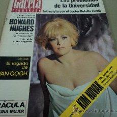 Coleccionismo de Revista Gaceta Ilustrada: KIM NOVAK Y HOWARD HUGES EN LA GACETA ILUSTRADA. Lote 29134541
