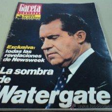 Coleccionismo de Revista Gaceta Ilustrada: CASO WATERGATE LA VIDA A LOS CIEN AÑOS SKYLAB. Lote 29134843