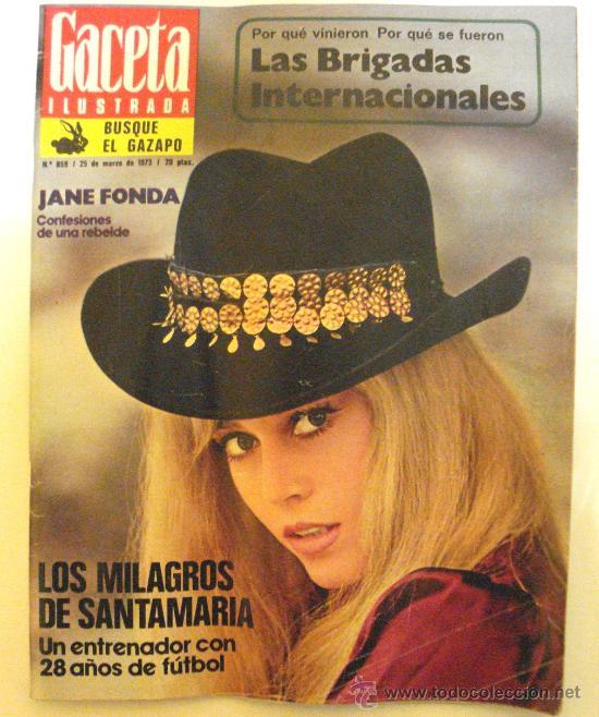GACETA ILUSTRADA - 25 DE MARZO DE 1973 - (Coleccionismo - Revistas y Periódicos Modernos (a partir de 1.940) - Revista Gaceta Ilustrada)