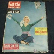 Coleccionismo de Revista Gaceta Ilustrada: REVISTA GACETA ILUSTRADA AÑO 1960 PORTADA MARILYN MONROE. Lote 31837646