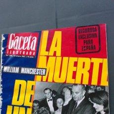 Coleccionismo de Revista Gaceta Ilustrada: &-REVISTA GACETA ILUSTRADA -KENNEDY-(6,NºS, ESPECIALES) - 1967 - LA MUERTE DE UN PRESIDENTE -. Lote 32209285