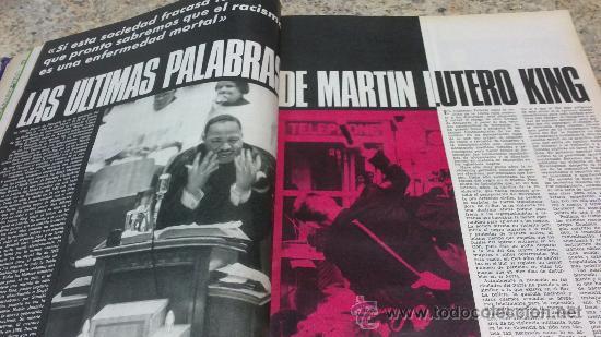 Coleccionismo de Revista Gaceta Ilustrada: MAGNIFICO,LOTE:Revista GACETA ILUSTRADA nº 600-AL-612-(7-4/30-6-1968)ENCUADERNADO-VER FOTOS- - Foto 5 - 33108827