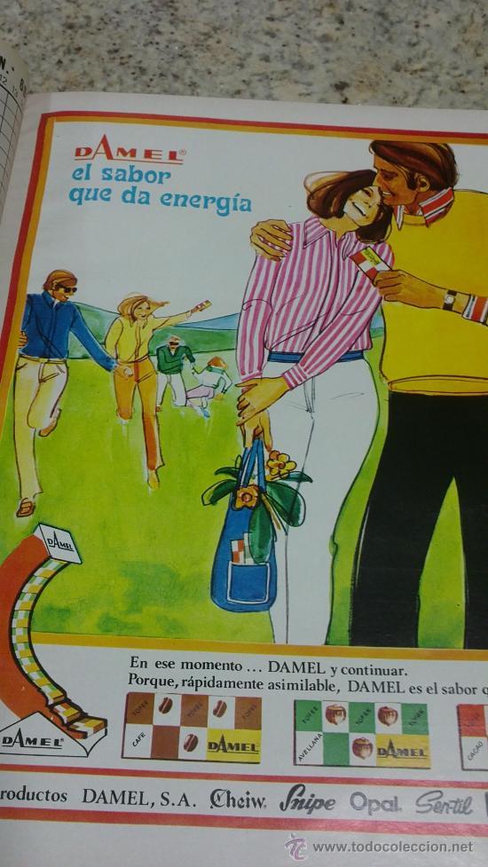 Coleccionismo de Revista Gaceta Ilustrada: MAGNIFICO,LOTE:Revista GACETA ILUSTRADA nº 600-AL-612-(7-4/30-6-1968)ENCUADERNADO-VER FOTOS- - Foto 6 - 33108827