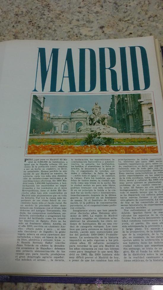 Coleccionismo de Revista Gaceta Ilustrada: MAGNIFICO,LOTE:Revista GACETA ILUSTRADA nº 600-AL-612-(7-4/30-6-1968)ENCUADERNADO-VER FOTOS- - Foto 13 - 33108827