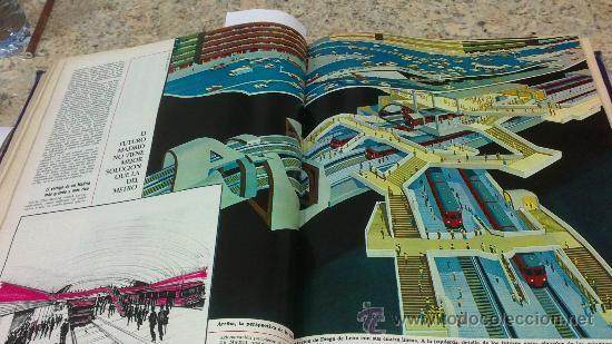 Coleccionismo de Revista Gaceta Ilustrada: MAGNIFICO,LOTE:Revista GACETA ILUSTRADA nº 600-AL-612-(7-4/30-6-1968)ENCUADERNADO-VER FOTOS- - Foto 14 - 33108827
