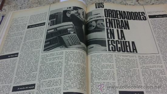 Coleccionismo de Revista Gaceta Ilustrada: MAGNIFICO,LOTE:Revista GACETA ILUSTRADA nº 600-AL-612-(7-4/30-6-1968)ENCUADERNADO-VER FOTOS- - Foto 16 - 33108827