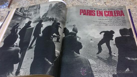 Coleccionismo de Revista Gaceta Ilustrada: MAGNIFICO,LOTE:Revista GACETA ILUSTRADA nº 600-AL-612-(7-4/30-6-1968)ENCUADERNADO-VER FOTOS- - Foto 18 - 33108827