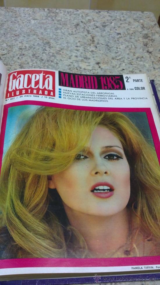 Coleccionismo de Revista Gaceta Ilustrada: MAGNIFICO,LOTE:Revista GACETA ILUSTRADA nº 600-AL-612-(7-4/30-6-1968)ENCUADERNADO-VER FOTOS- - Foto 20 - 33108827