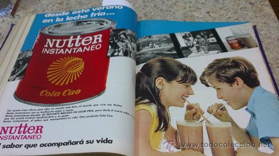 Coleccionismo de Revista Gaceta Ilustrada: MAGNIFICO,LOTE:Revista GACETA ILUSTRADA nº 600-AL-612-(7-4/30-6-1968)ENCUADERNADO-VER FOTOS- - Foto 23 - 33108827