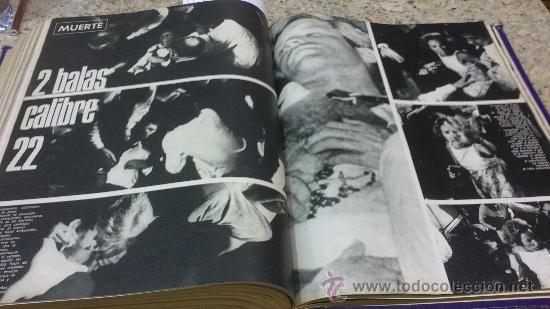 Coleccionismo de Revista Gaceta Ilustrada: MAGNIFICO,LOTE:Revista GACETA ILUSTRADA nº 600-AL-612-(7-4/30-6-1968)ENCUADERNADO-VER FOTOS- - Foto 26 - 33108827