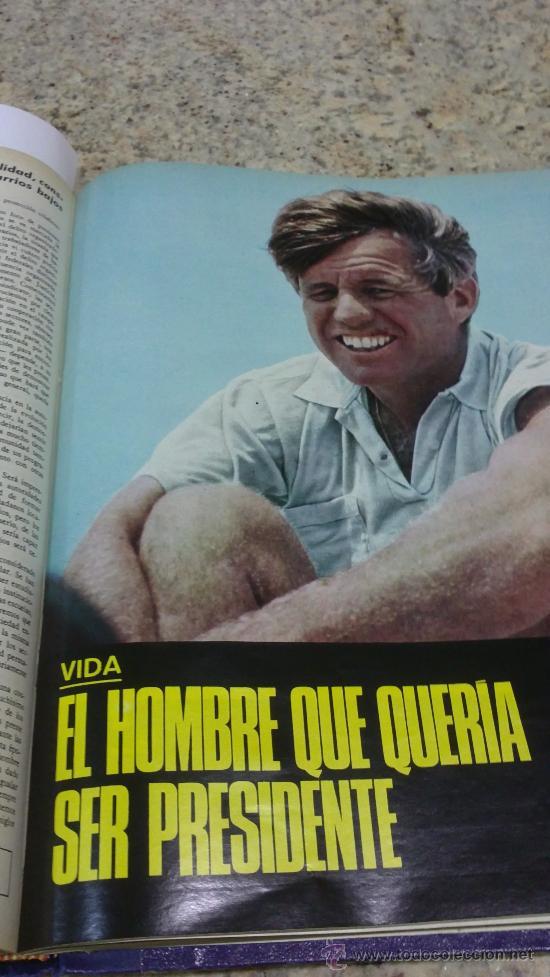 Coleccionismo de Revista Gaceta Ilustrada: MAGNIFICO,LOTE:Revista GACETA ILUSTRADA nº 600-AL-612-(7-4/30-6-1968)ENCUADERNADO-VER FOTOS- - Foto 27 - 33108827