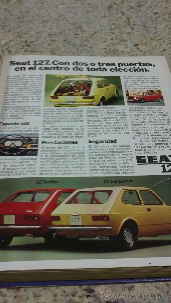 Coleccionismo de Revista Gaceta Ilustrada: MAGNIFICO,LOTE:Revista GACETA ILUSTRADA nº 848-AL-859-(7-1/9-3-1973)ENCUADERNADO-VER FOTOS - Foto 2 - 33109441