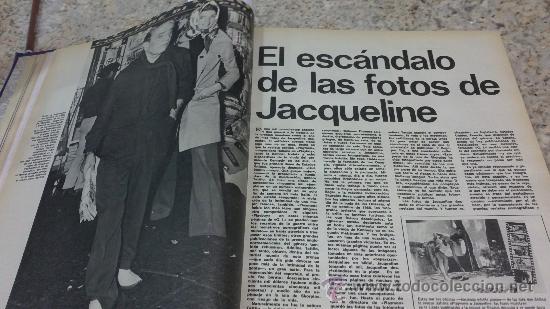 Coleccionismo de Revista Gaceta Ilustrada: MAGNIFICO,LOTE:Revista GACETA ILUSTRADA nº 848-AL-859-(7-1/9-3-1973)ENCUADERNADO-VER FOTOS - Foto 4 - 33109441