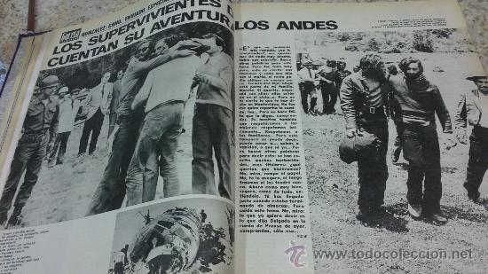 Coleccionismo de Revista Gaceta Ilustrada: MAGNIFICO,LOTE:Revista GACETA ILUSTRADA nº 848-AL-859-(7-1/9-3-1973)ENCUADERNADO-VER FOTOS - Foto 5 - 33109441