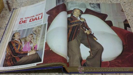 Coleccionismo de Revista Gaceta Ilustrada: MAGNIFICO,LOTE:Revista GACETA ILUSTRADA nº 848-AL-859-(7-1/9-3-1973)ENCUADERNADO-VER FOTOS - Foto 7 - 33109441