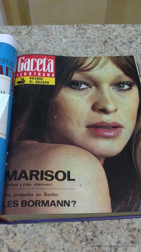 Coleccionismo de Revista Gaceta Ilustrada: MAGNIFICO,LOTE:Revista GACETA ILUSTRADA nº 848-AL-859-(7-1/9-3-1973)ENCUADERNADO-VER FOTOS - Foto 8 - 33109441