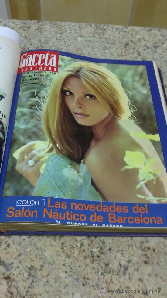 Coleccionismo de Revista Gaceta Ilustrada: MAGNIFICO,LOTE:Revista GACETA ILUSTRADA nº 848-AL-859-(7-1/9-3-1973)ENCUADERNADO-VER FOTOS - Foto 10 - 33109441