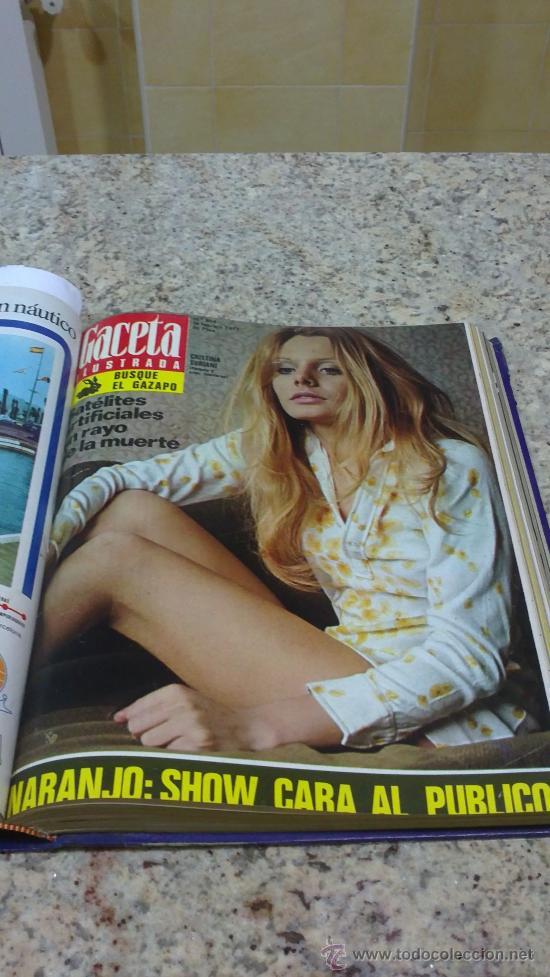 Coleccionismo de Revista Gaceta Ilustrada: MAGNIFICO,LOTE:Revista GACETA ILUSTRADA nº 848-AL-859-(7-1/9-3-1973)ENCUADERNADO-VER FOTOS - Foto 11 - 33109441